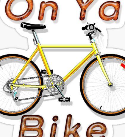 On Ya Bike Sticker