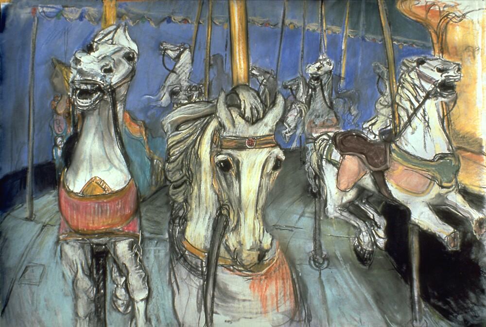 Merry-go-round #2 by WoolleyWorld