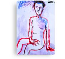 me raw Canvas Print