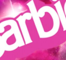 Galaxy Barbie Sticker