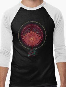 Red Lotus Men's Baseball ¾ T-Shirt