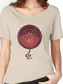 Red Lotus Women's Relaxed Fit T-Shirt