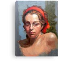 Portrait of Phoebe Canvas Print