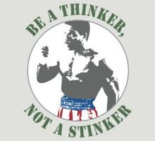 Apollo Creed - Be a Thinker, not a Stinker by wesland