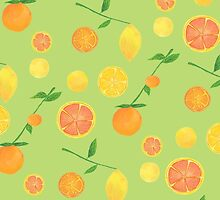 Citrus Pattern by noellegobbi