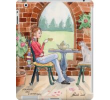Manners are everything - cat iPad Case/Skin