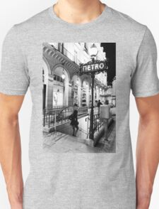 Paris Metro Unisex T-Shirt