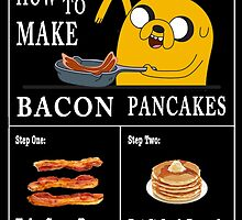 How To: Bacon Pancakes by EdgarAllanPurr