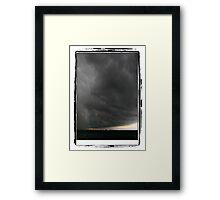 Storm over Sunshine Coast Framed Print