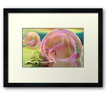 Sending you a dream Framed Print