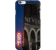 Never Hostel iPhone Case/Skin