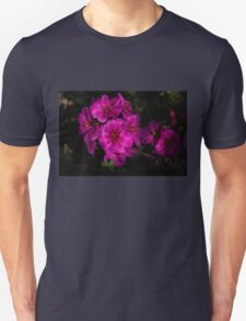 Shocking Pink and Fuchsia - a Vivid Succulent Bouquet T-Shirt