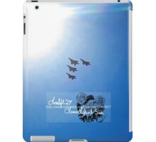 into the sun iPad Case/Skin