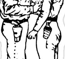 Paranoid Time - Minutemen Sticker