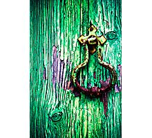 Knobs & Knockers Photographic Print