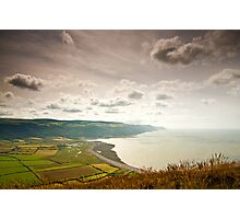Porlock Bay- Exmoor National Park-UK Photographic Print