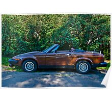1980 Triumph TR-7 Drophead Coupe Poster