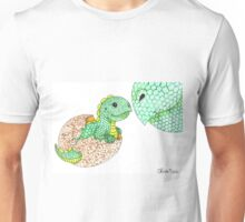 Daily Doodle 7 - Dino Love Unisex T-Shirt