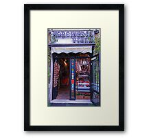 Deli in Rome Framed Print