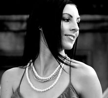 Girl with the Pearl Necklace by moonlover