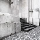 Steps in Bergamo by Christine Wilson