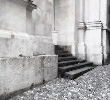 Steps in Bergamo by Christine Wilson