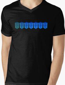Fading TARDIS Mens V-Neck T-Shirt