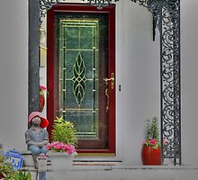 watching the door by henuly1