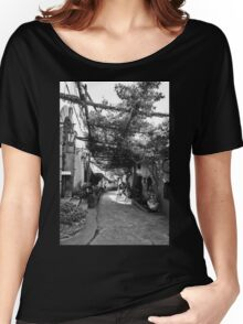 Positano Alley Women's Relaxed Fit T-Shirt
