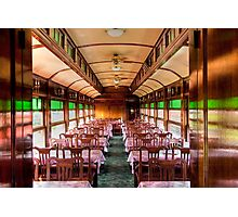 The Strasburg Dining Car Photographic Print