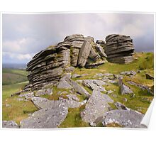 Dartmoor: Black Tor (North) Poster