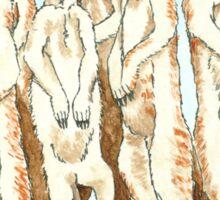 Daily Doodle 11-Meerkats Sticker
