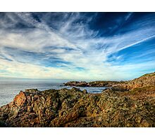 Looking towards Bibette Head - Alderney Photographic Print