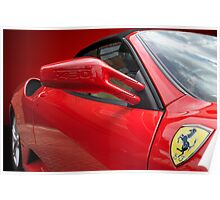 Ferrari F430 Side shot Poster