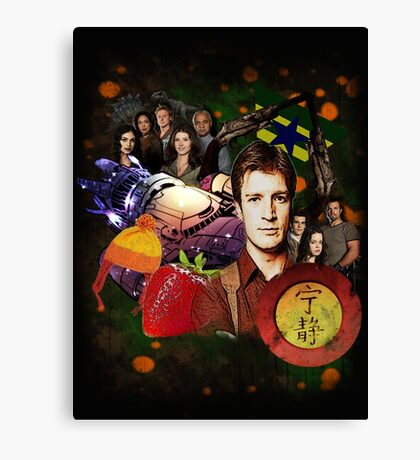 Firefly/Serenity Collage Canvas Print
