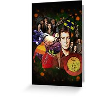 Firefly/Serenity Collage Greeting Card