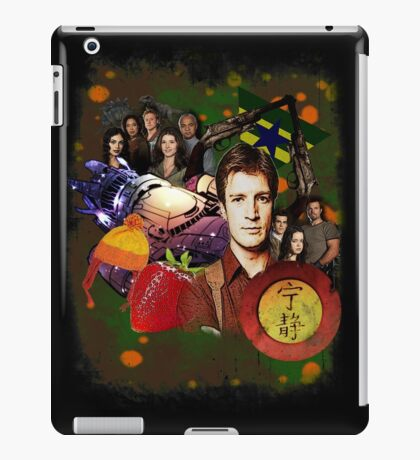 Firefly/Serenity Collage iPad Case/Skin