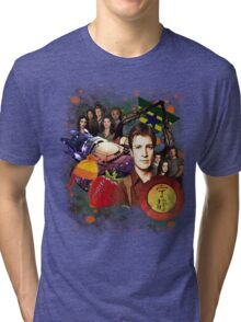 Firefly/Serenity Collage Tri-blend T-Shirt
