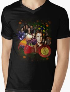 Firefly/Serenity Collage Mens V-Neck T-Shirt