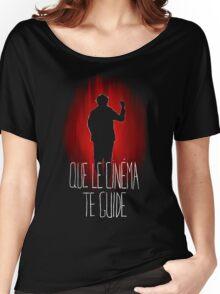 UM15 - QUE LE CINEMA TE GUIDE Women's Relaxed Fit T-Shirt