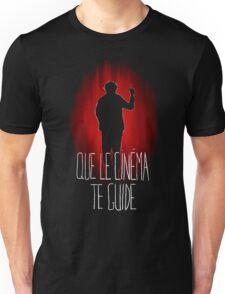UM15 - QUE LE CINEMA TE GUIDE Unisex T-Shirt