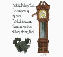Daily Doodle 12-Hickory Dickory Dock One Piece - Short Sleeve