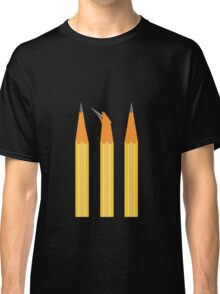 A broken pencil stands out Classic T-Shirt