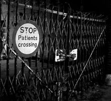 Patients Crossing ~ West Park Asylum by Josephine Pugh