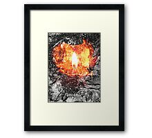 Earth, Air, Fire and Water Framed Print