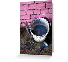 Paint Bucket Greeting Card
