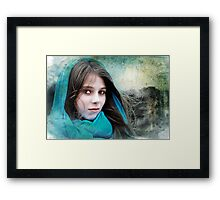 Isabella In The Breeze Framed Print