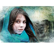 Isabella In The Breeze Photographic Print