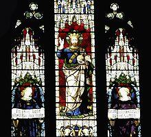 High Altar Window, St Faith's Church, Ealing West Londonn by Andrew  Bailey