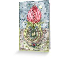 Floribunda Optimistica Greeting Card